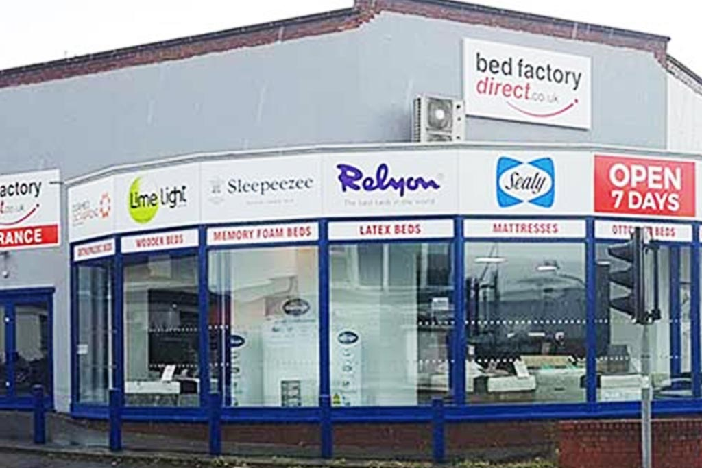 Bed Factory Direct Wirral Bed Shop
